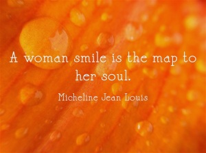 A-woman-smile-is-the-map